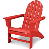 POLYWOOD Vineyard Adirondack Chair (Sunset Red)