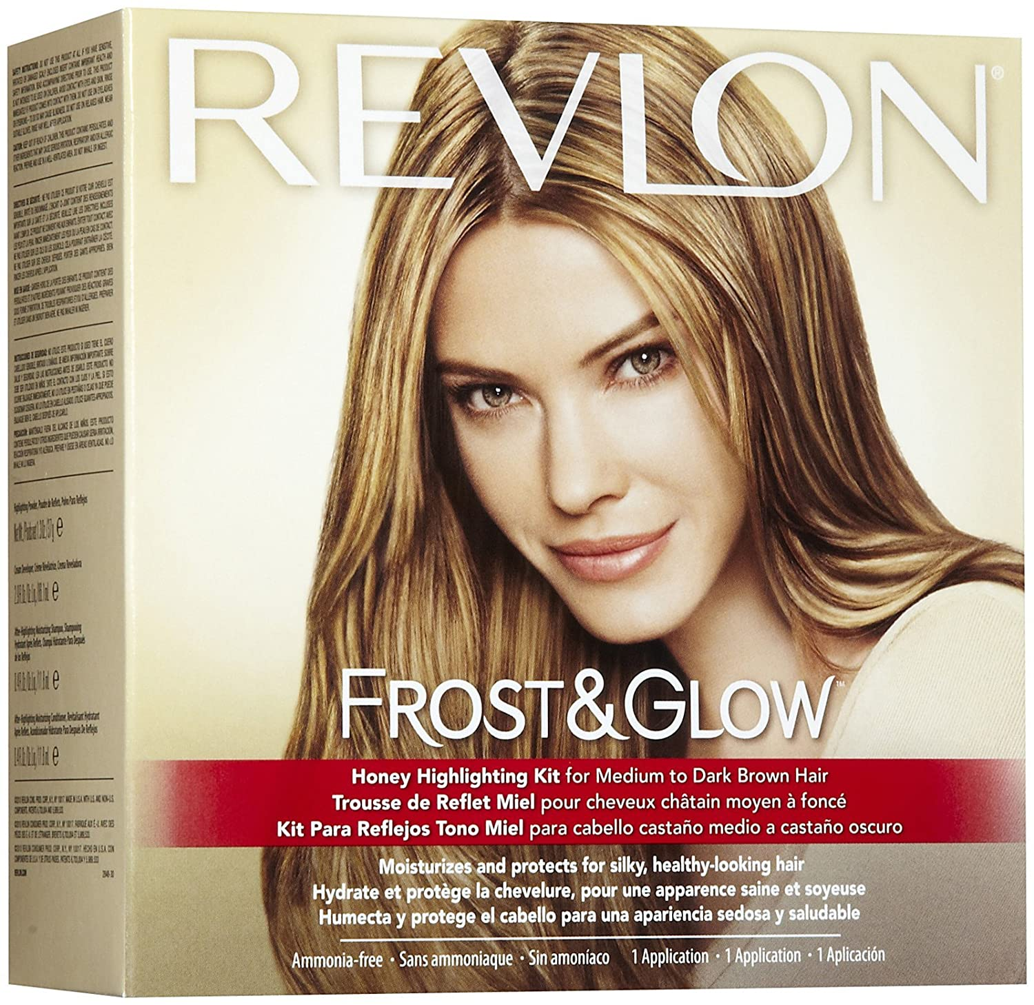 Amazon revlon frost glow honey highlighting kit hair amazon revlon frost glow honey highlighting kit hair highlighting products beauty pmusecretfo Image collections