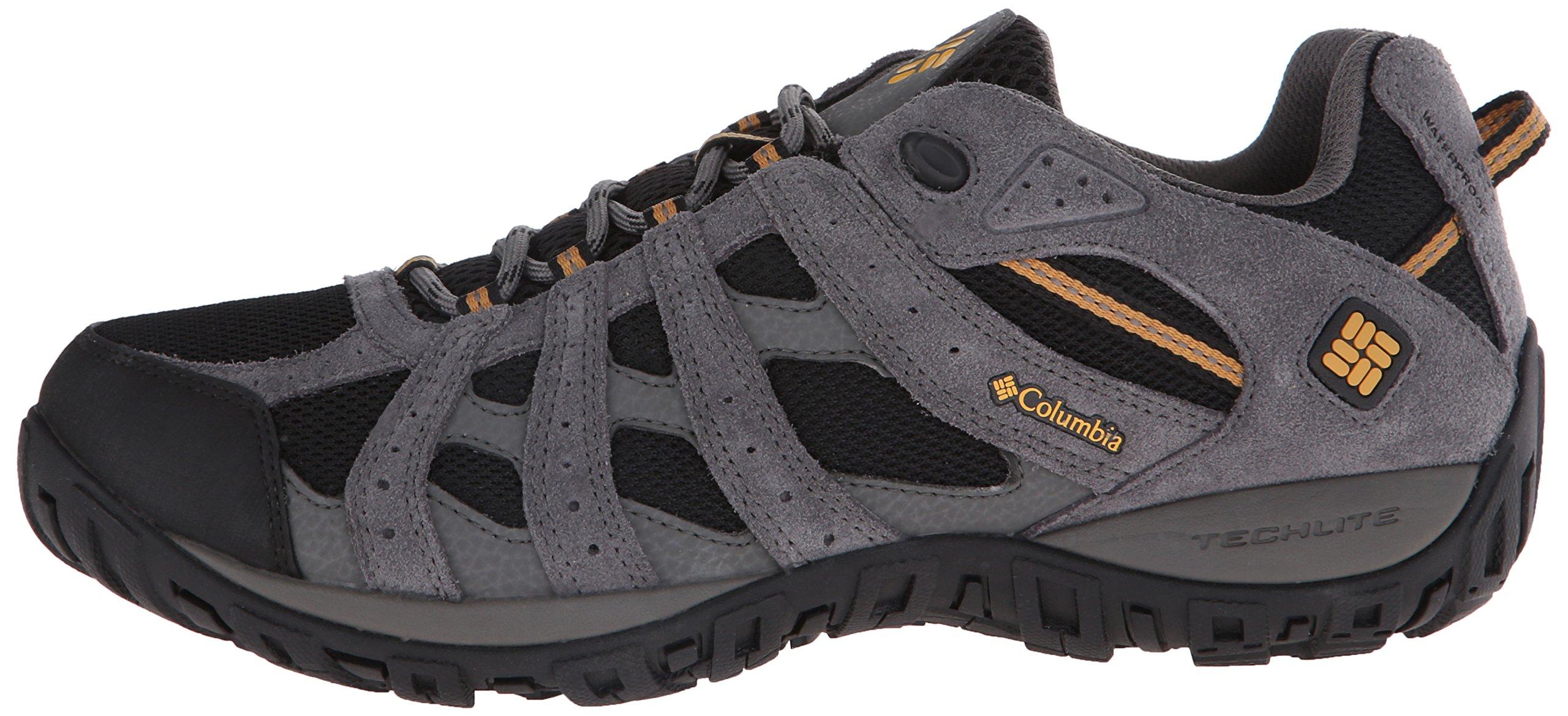 Columbia Men's Redmond Waterproof Hiking Shoe Black, Squash 7.5 D US by Columbia (Image #5)