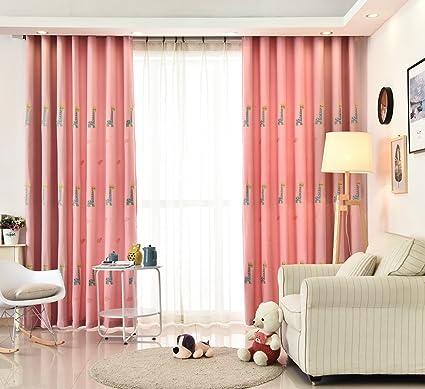 Amazon.com: WPKIRA Thermal Insulated Semi Blackout Panel Curtain 40 ...