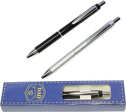 1 x El mejor bolígrafo de papá en la caja de regalo - Regalo del día del padre - RECIBIR AL AZAR DESDE LOS COLORES: Amazon.es: Oficina y papelería
