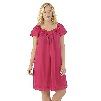d9a6cf6e02ab Exquisite Form Women s Coloratura Sleepwear Short Flutter Sleeve ...