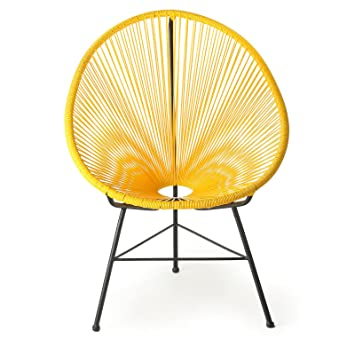 Superb Design Tree Home Acapulco Lounge Chair Yellow Caraccident5 Cool Chair Designs And Ideas Caraccident5Info