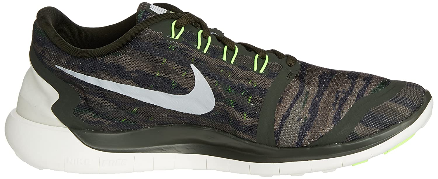 Nike Men's Free 5.0 Running Shoe B010TZGJ6O 8 D(M) US|Sequoia Turbo Green Cystal Green Summit White 301