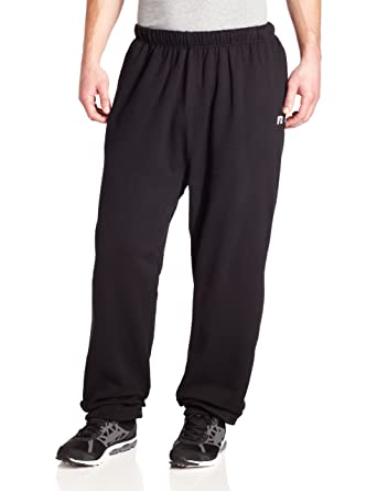 d8fcc86991d82 Russell Athletic Men's Big & Tall Basic Fleece Pull-On Pant, Black, ...