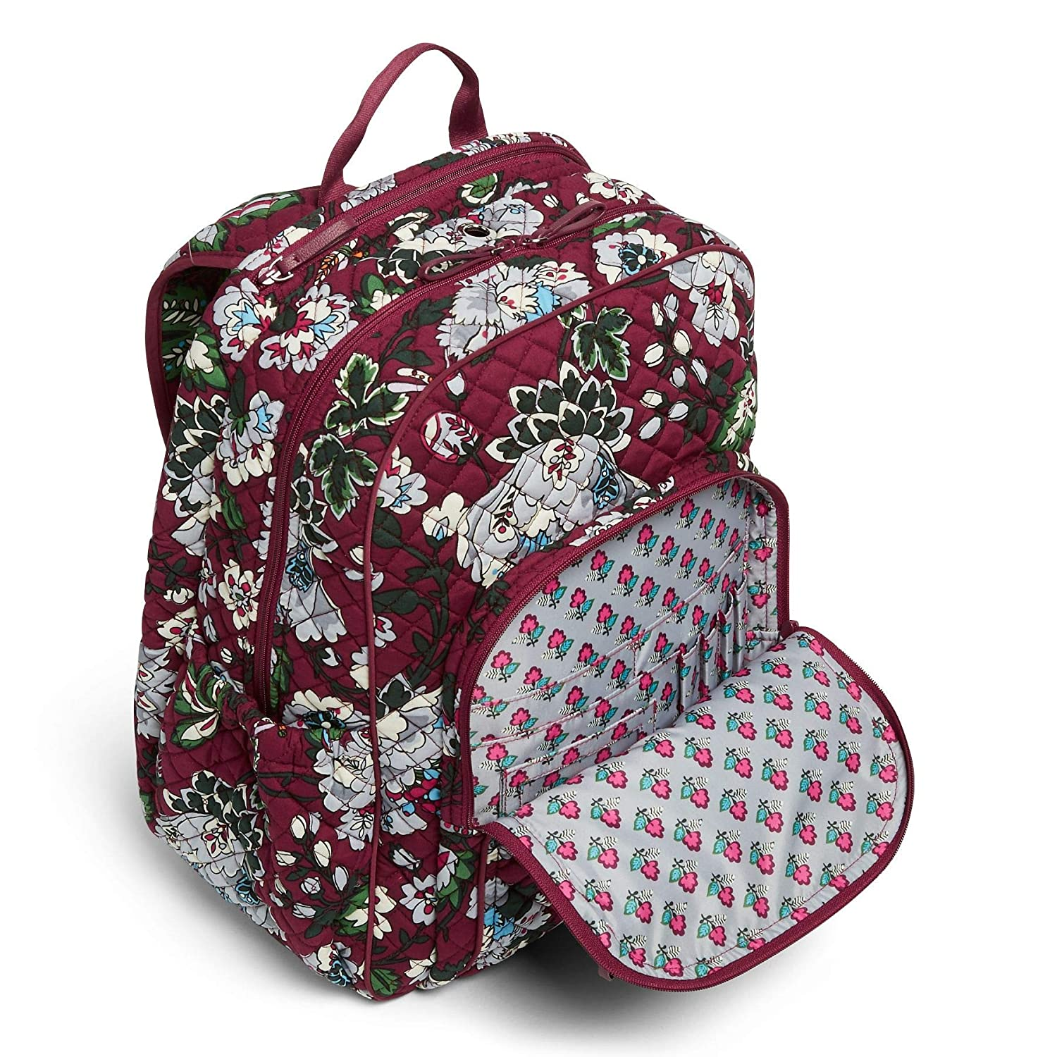 Amazon.com  Vera Bradley Iconic Campus Backpack c72a51097193f