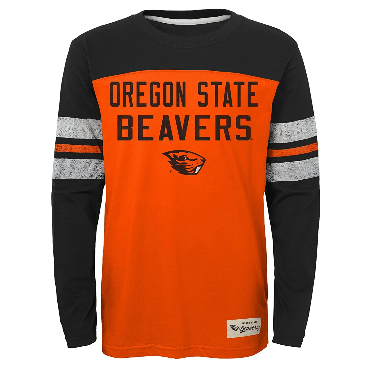 18 Orange NCAA by Outerstuff NCAA Oregon State Beavers Kids /& Youth Boys Legacy Tee Long Sleeve Crew Youth X-Large