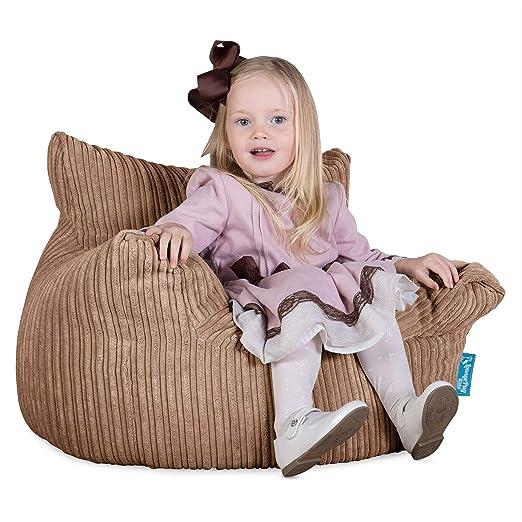 Lounge Pug®, Puff Sillón para niños, Pana Clásica - Arena ...