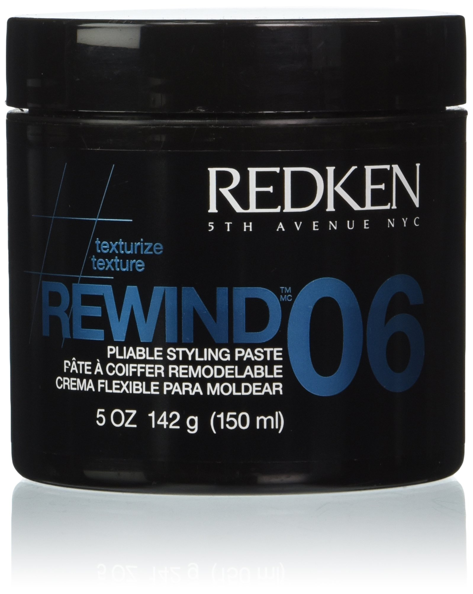 Redken Rewind 06 Pliable Styling Paste 5-Ounces Bottle by REDKEN
