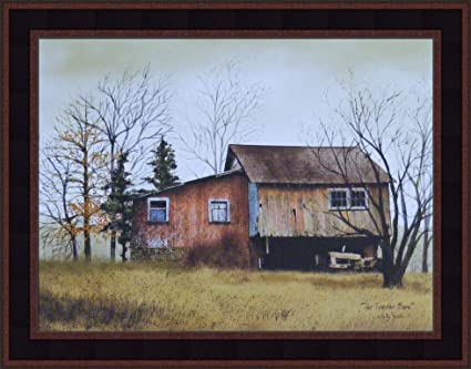 amazon com the tractor barn by billy jacobs 15x19 old weathered
