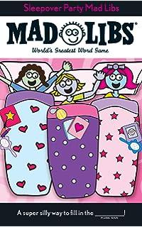 amazon com slumber party sleep over invitations fill in style 20