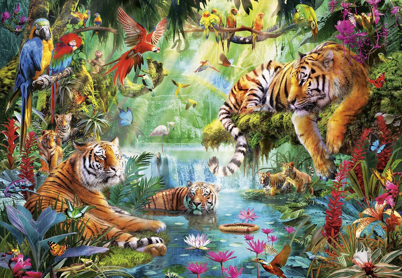 【送料無料(一部地域を除く)】 Buffalo Games タイガー ラグーン ラグーン 2000ピース Buffalo ジグソーパズル タイガー B07N4KR48V, ふとん村:2cb87d7f --- a0267596.xsph.ru