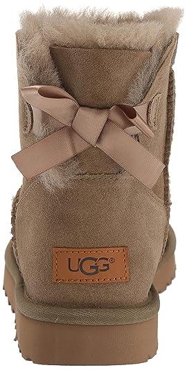 34f2df15c6b UGG Women's W Mini Bailey Bow II Fashion Boot