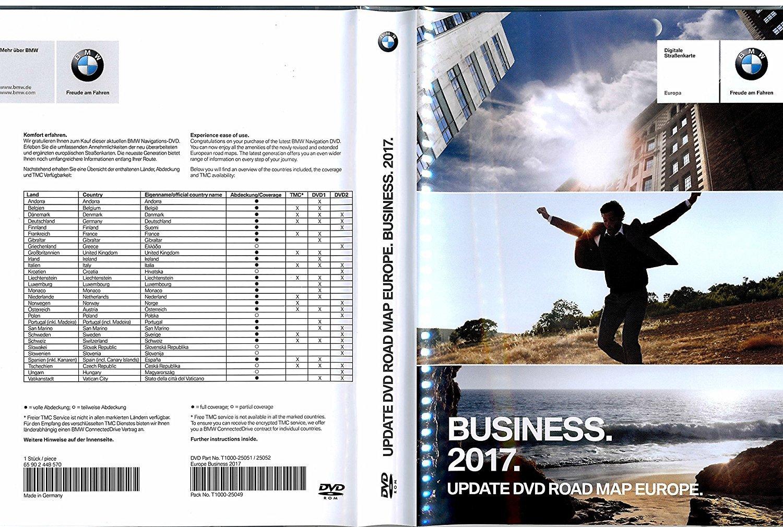 BMW Navi DVD 2017 Europa Business Map 3 E90 E91 1er E81 E84 E60 E61 sa606 piezas nº 65902448570: Amazon.es: Electrónica
