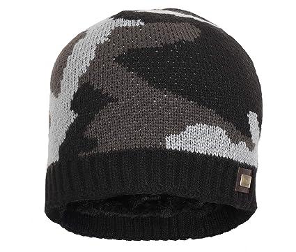 743207d478d FabSeasons Men s and Women s Acrylic Woolen Skull Cap (Black