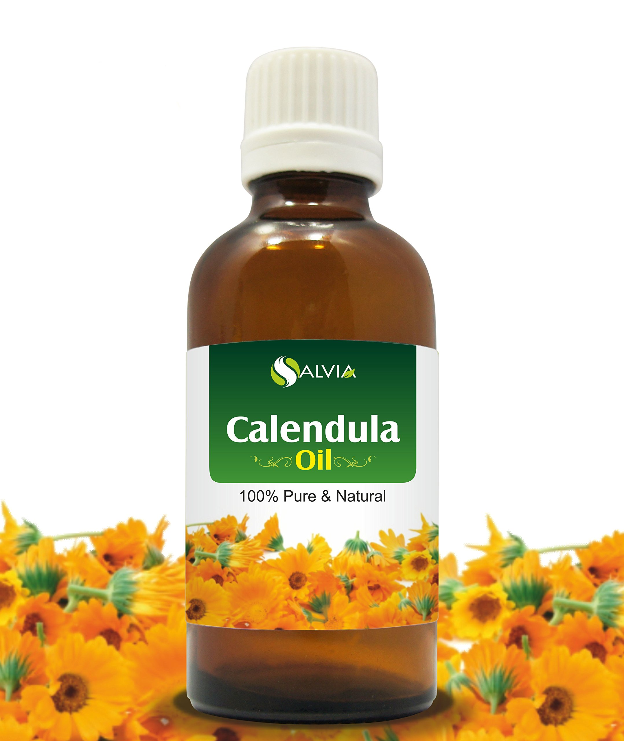 Calendula Essential Oil (Calendula officinalis) 100% Pure & Natural - Undiluted Infused Aromatherapy Oil - Therapeutic Grade - 30 ML by Salvia