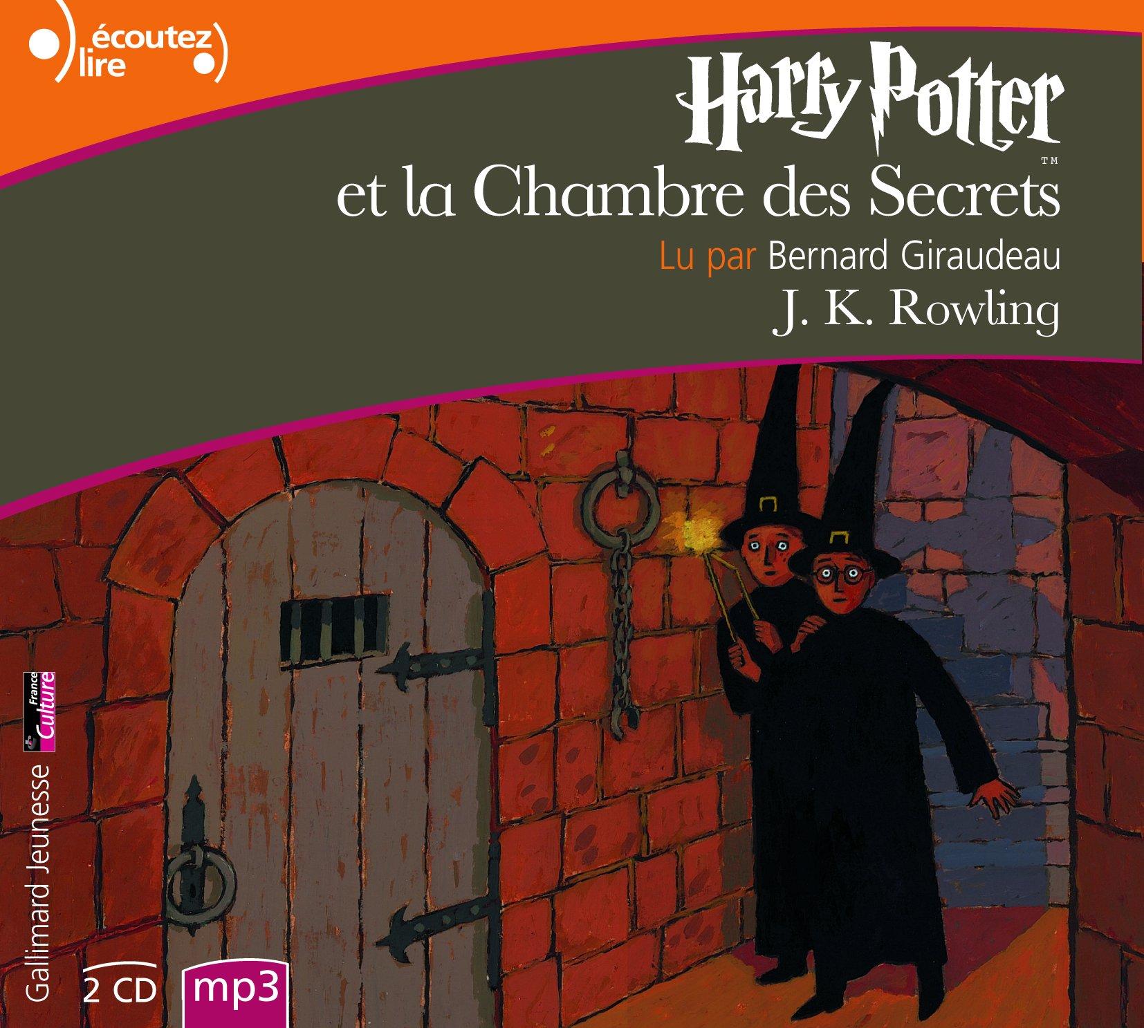 Harry Potter Et La Chambre Des Secrets Mp3 Cd Amazon Co