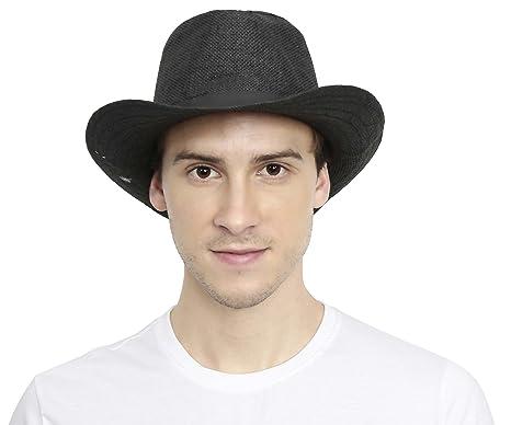 615c6cd0bb3 Buy FabSeasons Casual Self Design Fedora Beach Hat Online at Low ...