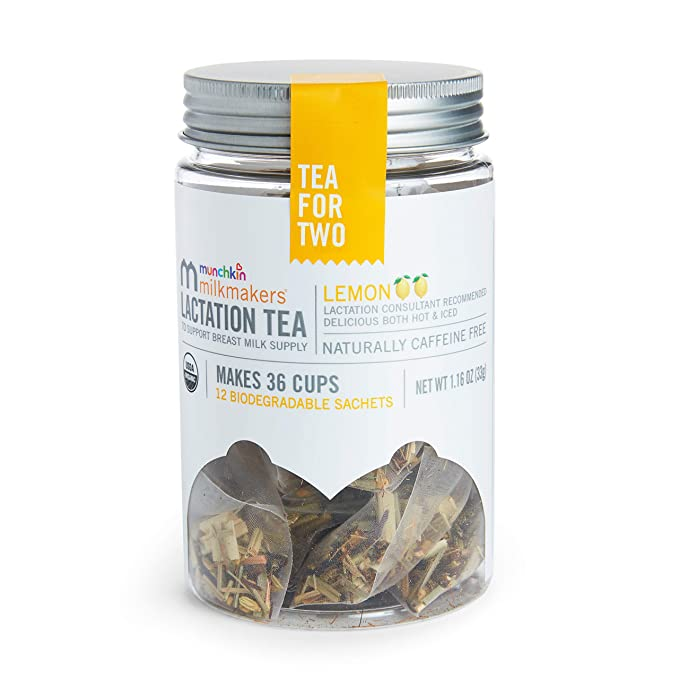 Milkmakers Lactation Tea, Lemon, 12 Count