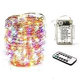 Diswoe LED String Lights Waterproof,200 Micro LED