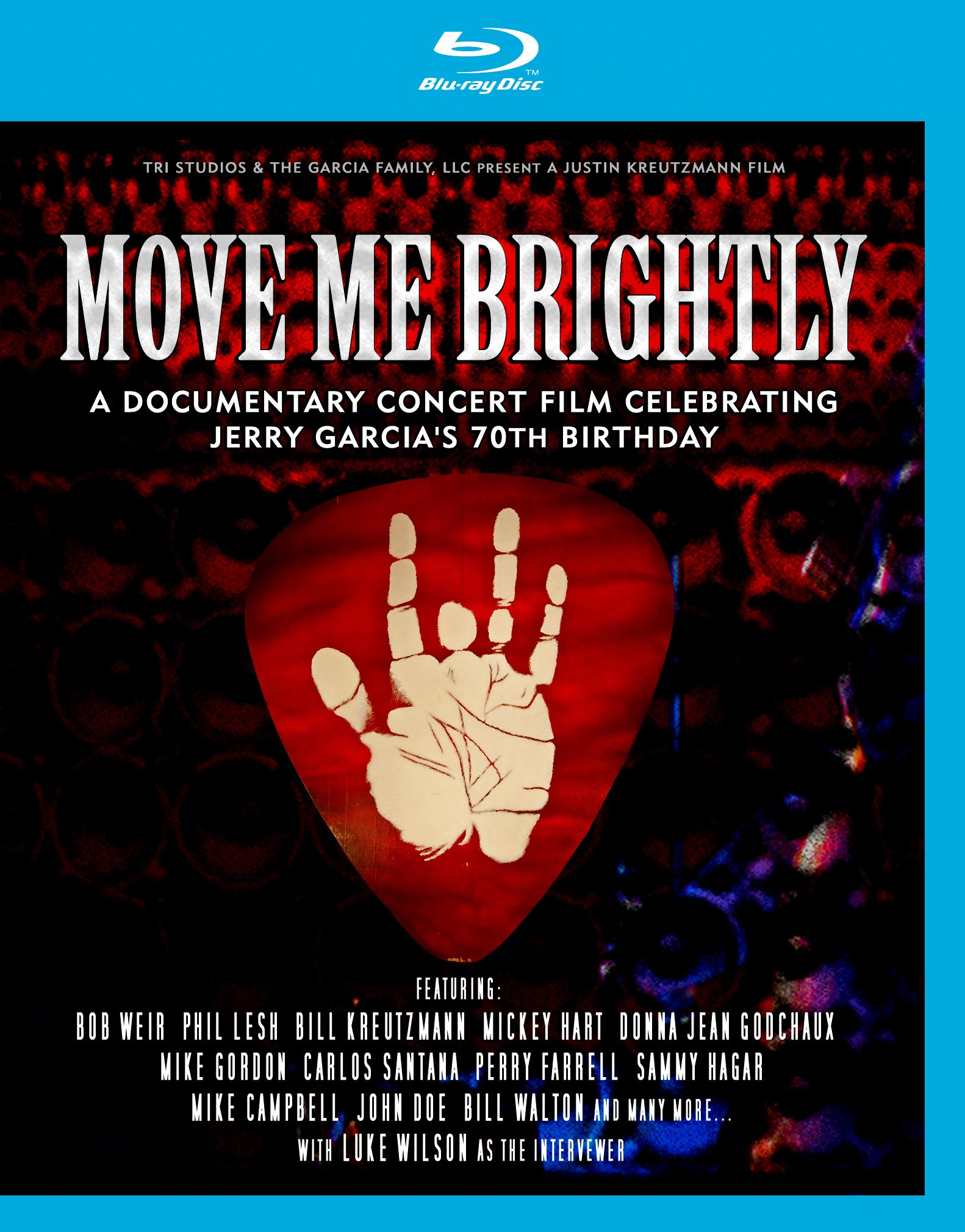 Blu-ray : Move Me Brightly: Celebrating Jerry Garcia's / Various (Blu-ray)