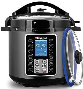 Mueller 6-qt Pressure Cooker, 10 in 1