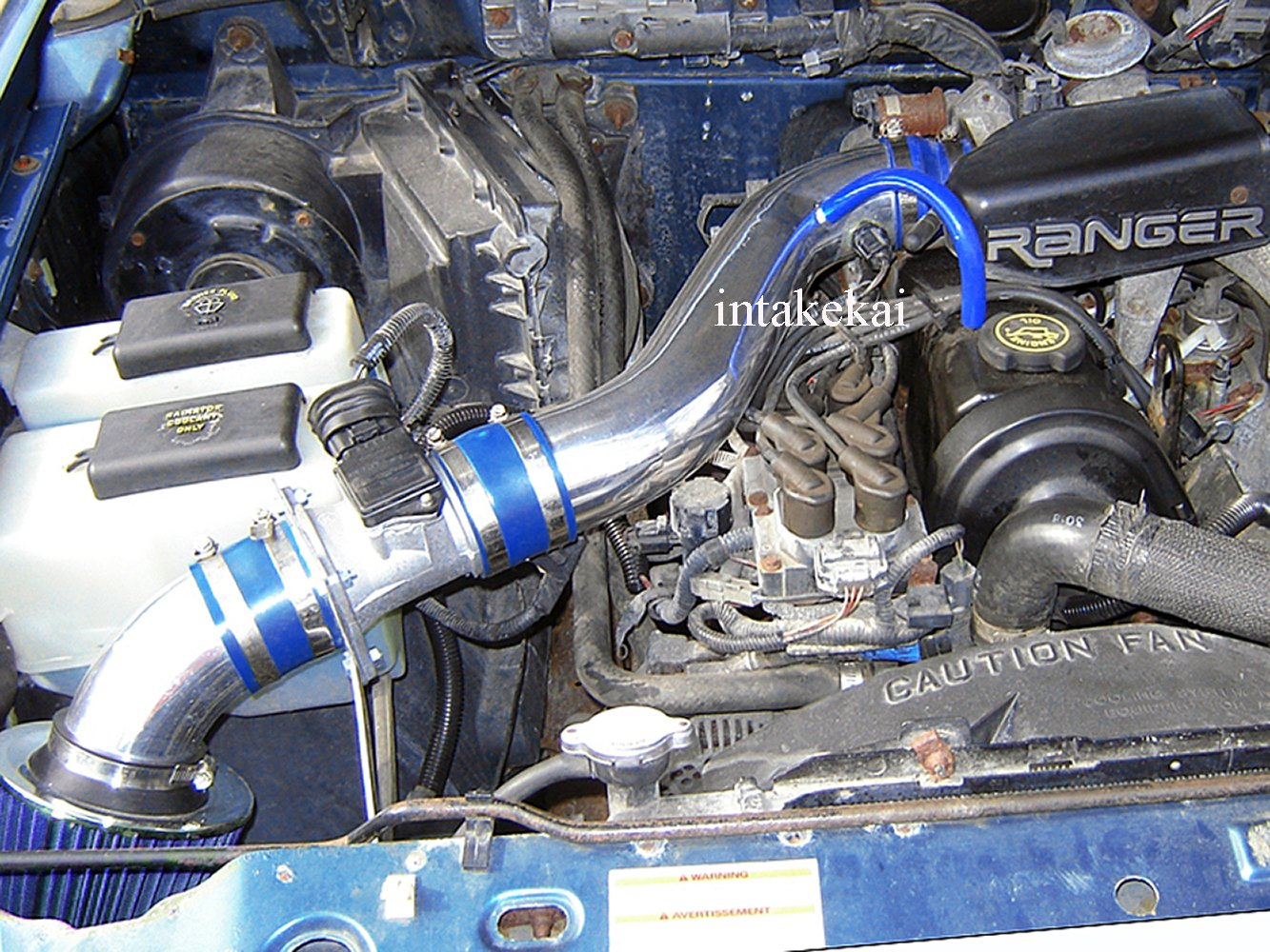 Air Intake 95 96 97 Mazda B2300 2.3 l4 Engine BLACK Performance ...