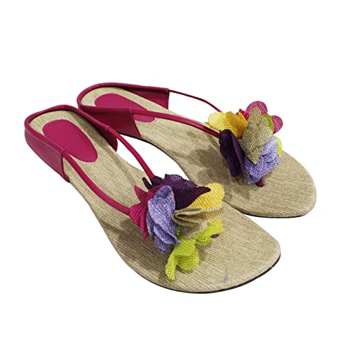 89a589c91d973e Jigyasha Flower Sandals