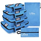 Packing Cubes | Travel Packing Cubes, 4pc Set | Packing Cubes for Travel |Luggage (Marine Blue)