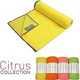 Yogabum Zitrusfrucht Kollektion Anti-Rutsch Yoga-Matten Handtücher