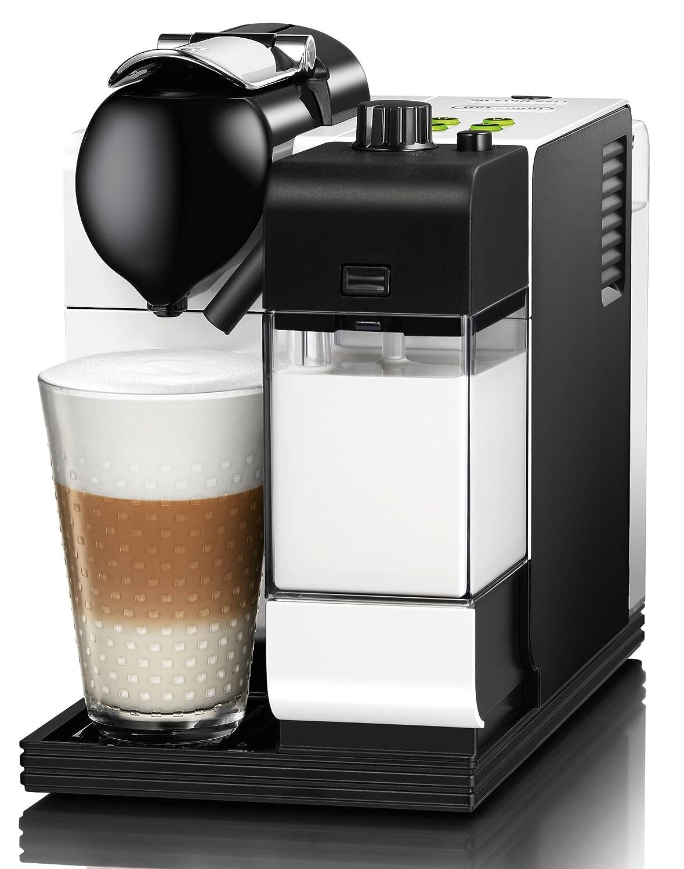 delonghi lattissima nespresso en520 white brand new in box coffee pods ebay. Black Bedroom Furniture Sets. Home Design Ideas