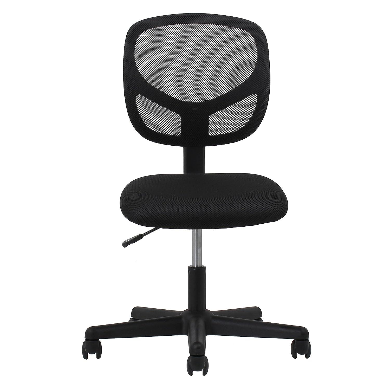 Charming Essentials Swivel Armless Mid Back Mesh Task Chair   Ergonomic Computer/Office  Chair (ESS 3000): Amazon.com: Industrial U0026 Scientific