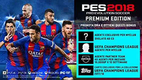 Pro Evolution Soccer 2018 Premium - Day-one - Xbox One ...