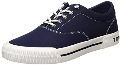 2a49e8e34b47fe Tommy Hilfiger Herren Y2285armouth 1d Low-Top  Amazon.de  Schuhe ...