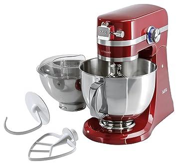 Aeg Km4000 Ultramix Kitchen Machine Watermelon Red Amazon Co Uk