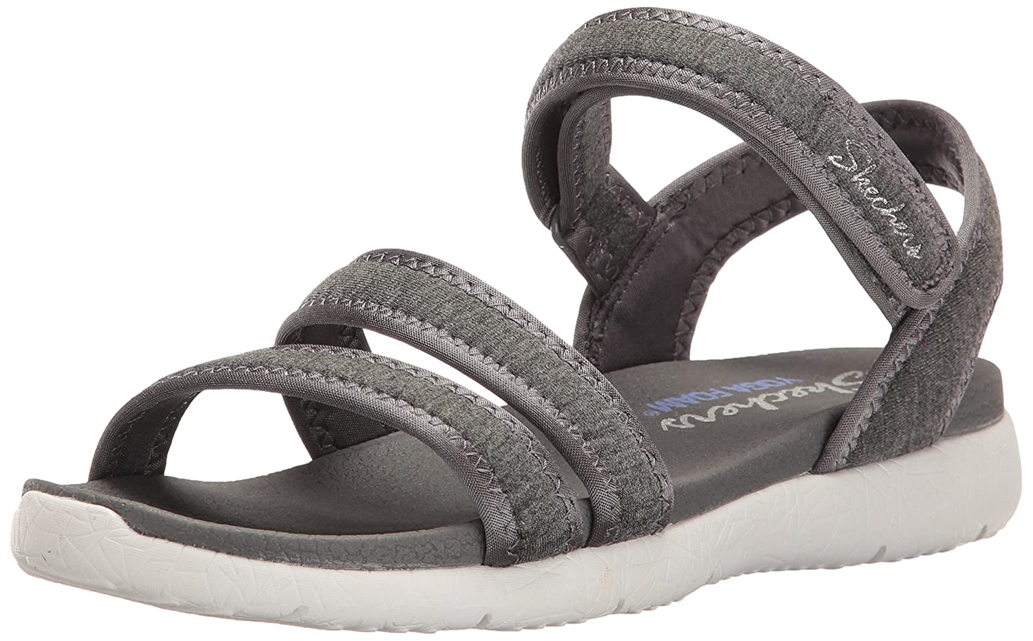 Amazon.com | Skechers Womens Microburst Pure Chill Flat ...