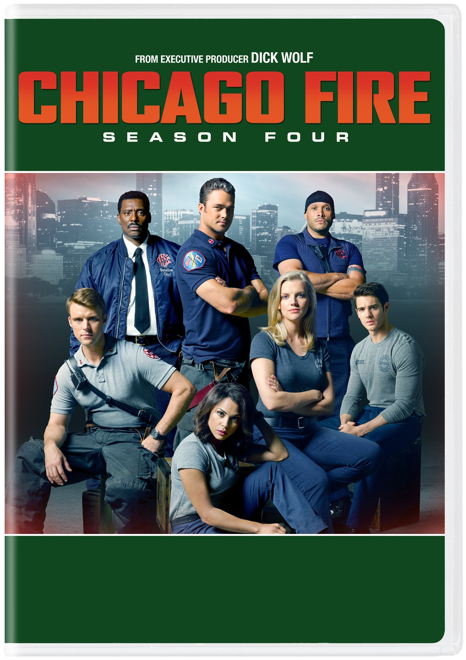 DVD : Chicago Fire: Season Four (Boxed Set, Snap Case, Slipsleeve Packaging, 6 Disc)