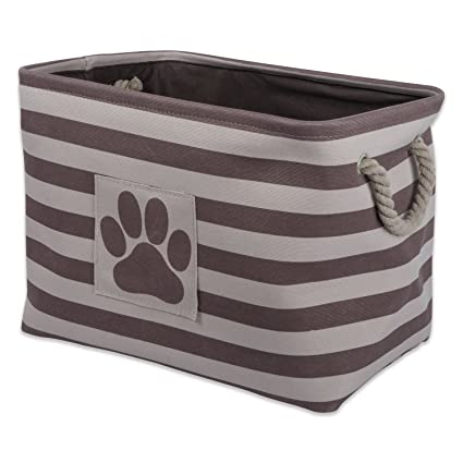 DII Bone Dry Large Rectangle Pet Toy and Accessory Storage Bin 18x12x15u0026quot; Collapsible  sc 1 st  Amazon.com & Amazon.com : DII Bone Dry Large Rectangle Pet Toy and Accessory ...