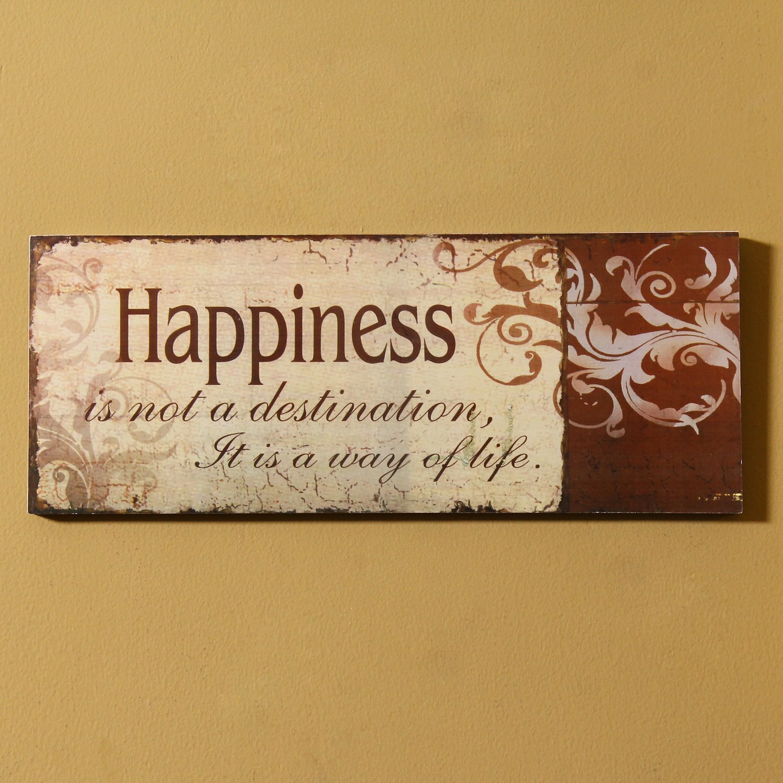 Amazon.com: Adeco Decorative Wood Wall Hanging Sign Plaque ...