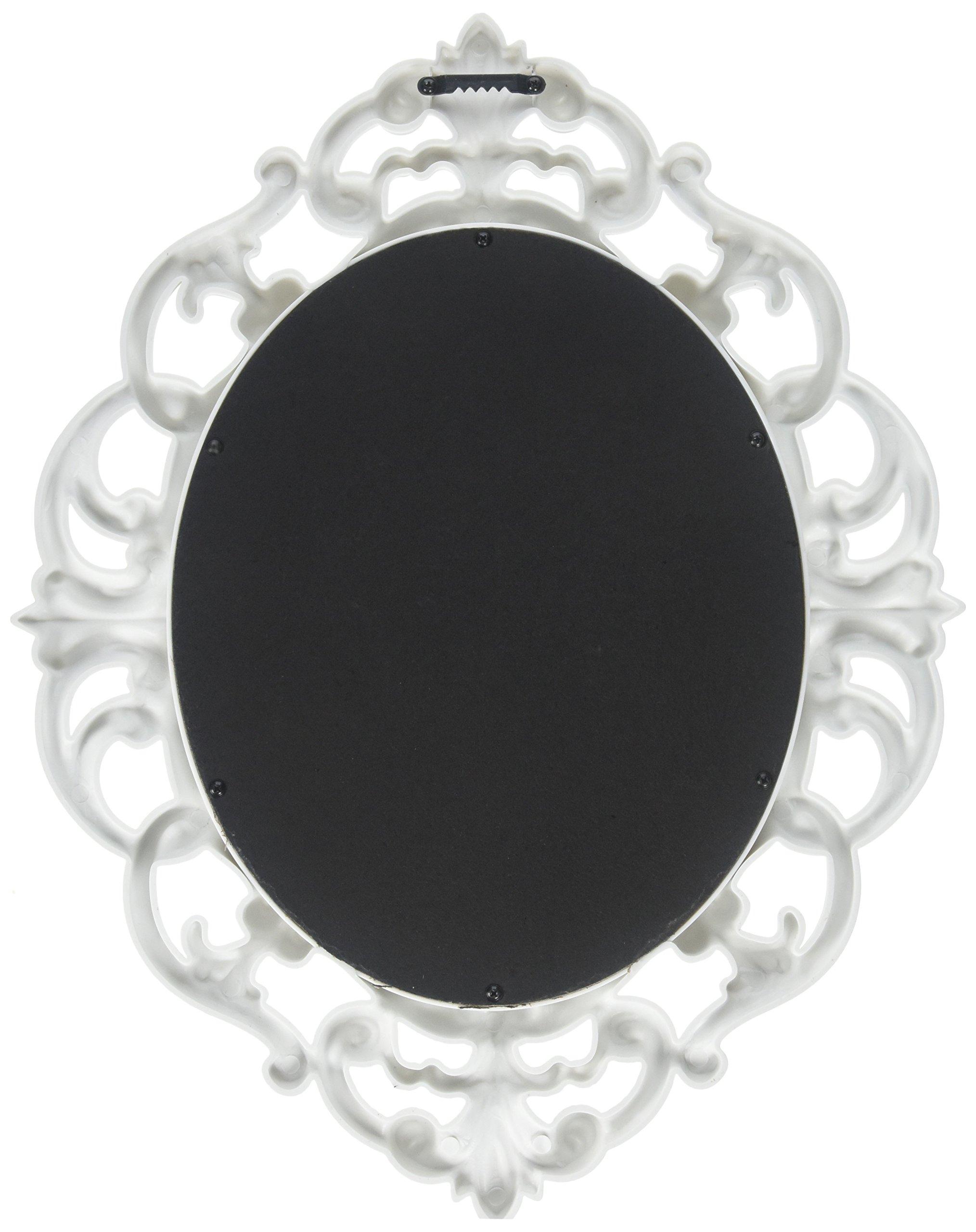Kole White Oval Vintage Wall Mirror by Kole (Image #2)