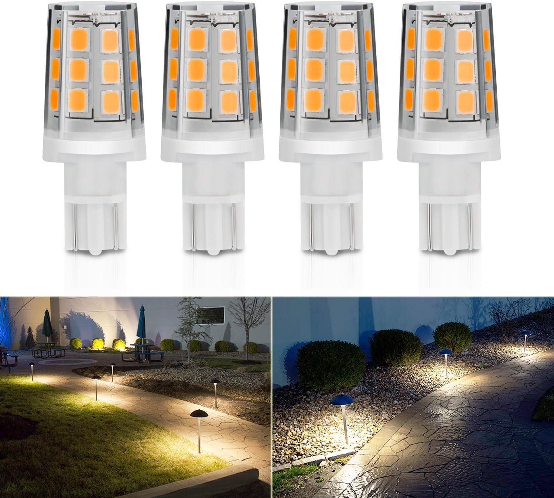 Kohree T5 T10 Wedge Base Led Landscape Light Bulbs 12v Ac Dc Led Replacement Bulbs 3000k Warm White Pathway Light Bulb For Malibu Paradise Moonrays 4 Pack 2 5w Amazon Ca Automotive
