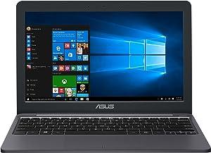 "ASUS VivoBook E203NA-YS03 11.6"" Featherweight design Laptop, Intel Dual-Core Celeron N3350 2.4GHz processor, 4GB DDR3 RAM, 64GB EMMC Storage, App based Windows 10 S (Renewed)"