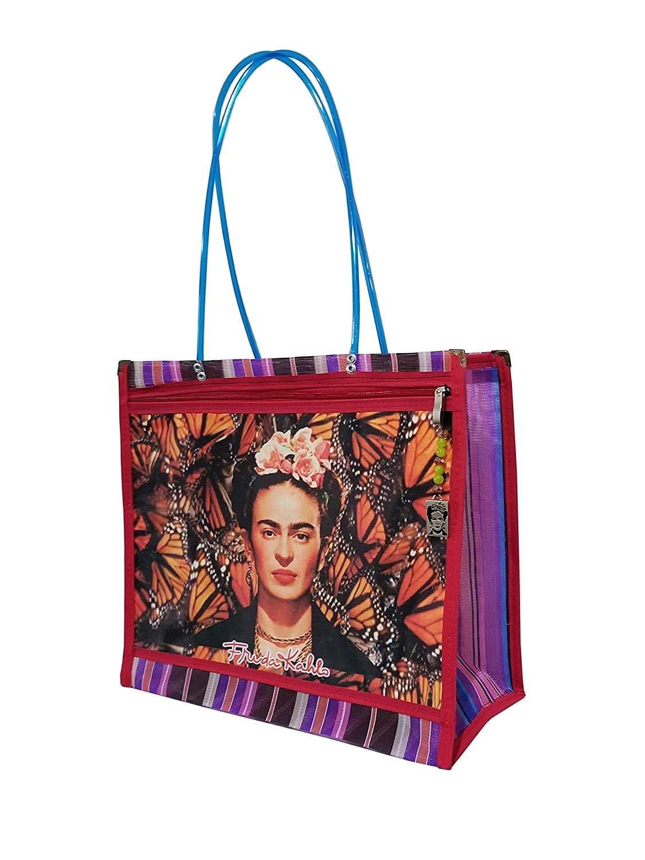 Amazon.com: FRIDA KAHLO *MARIPOSAS MONARCAS*. Bolsa de Mujer ...