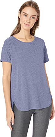 Amazon Essentials Patterned Studio Relaxed-fit Crewneck T-shirt - fashion-t-shirts Mujer