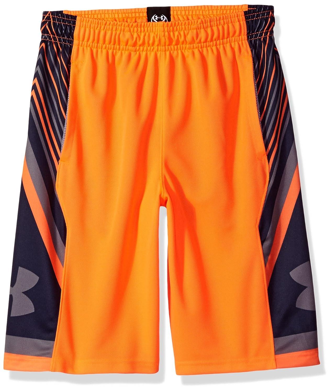 (アンダーアーマー)UNDER ARMOUR スペースザフロアショーツ(バスケットボール/ショートパンツ/BOYS)[1299304] B01MF9982V Youth Medium|Magma Orange/Midnight Navy Magma Orange/Midnight Navy Youth Medium