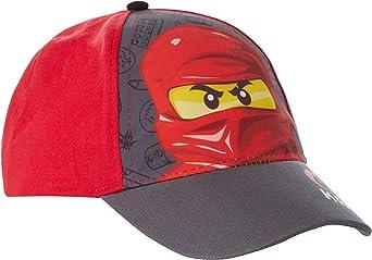 Lego Ninjago Gorra de béisbol para Chicos Rojo 54: Amazon.es: Ropa ...