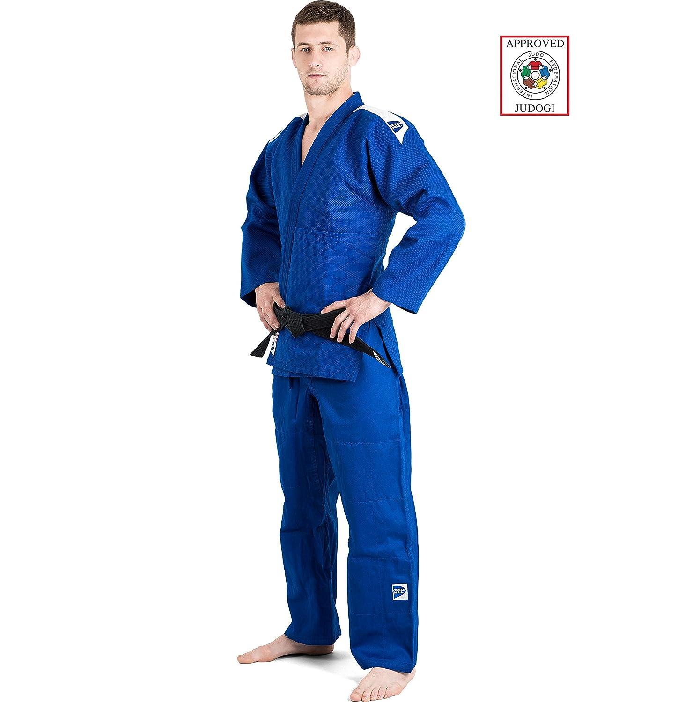 Amazon.com: GreenHill Azul Profesional Judo GI Fij 165 cm ...