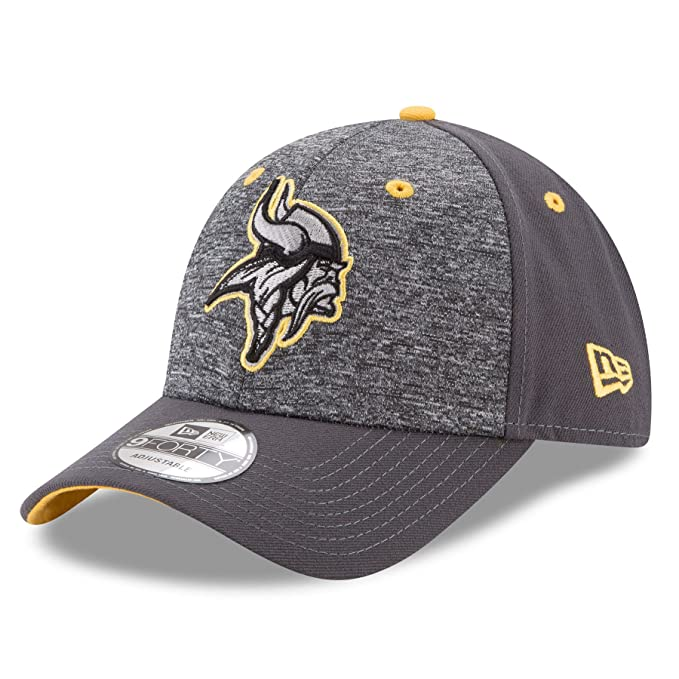 5b47db93 New Era Adult Men NFL The League Shadow 2 9FORTY Adjustable Cap, Graphite,  One Size