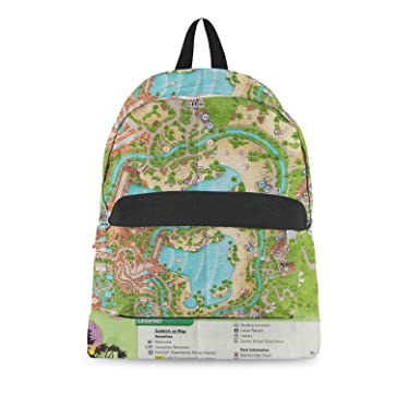 Amazon.com | Typhoon Lagoon Map Backpack All-Over-Print | Casual ...