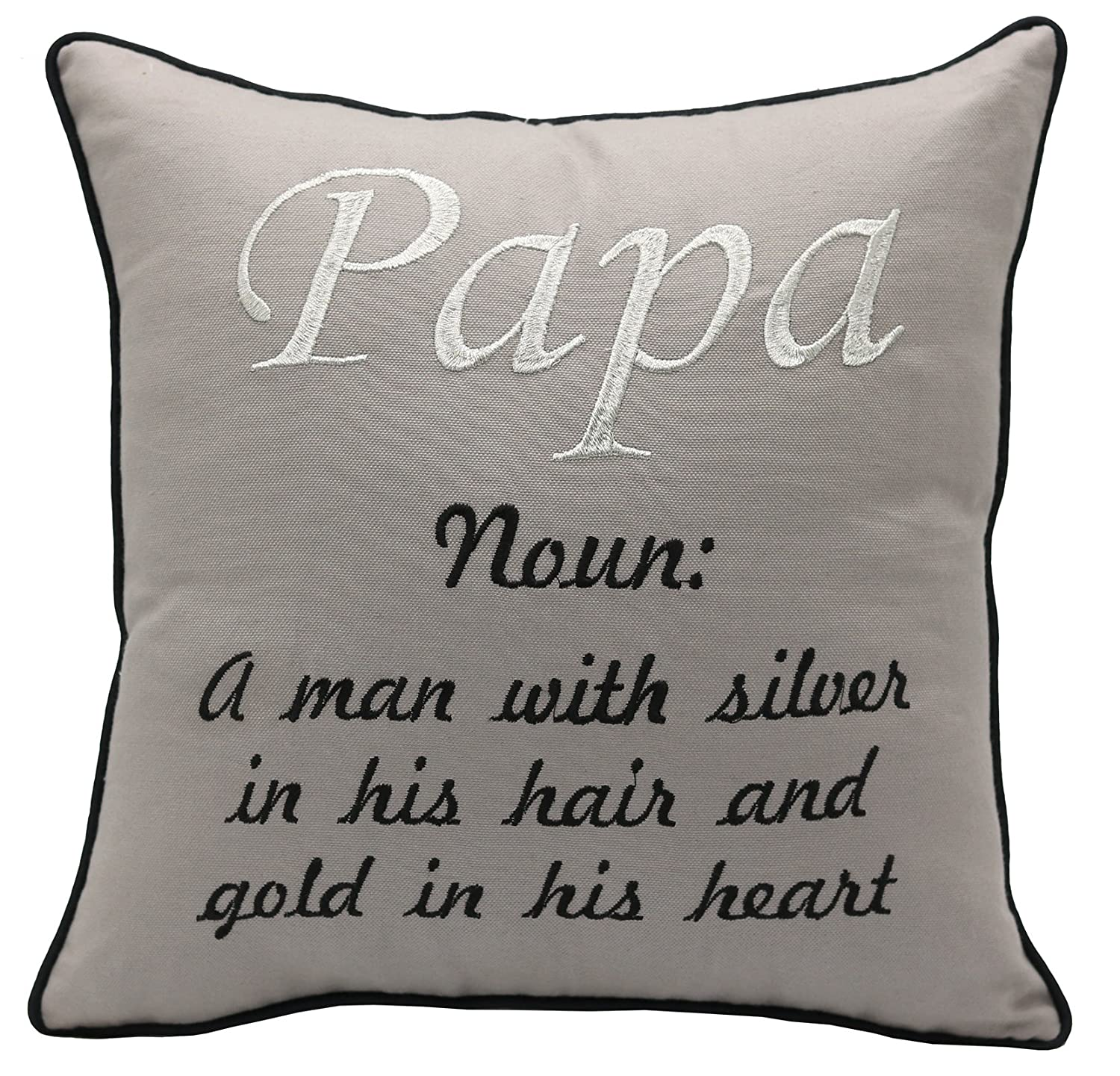 YugTex Cushion Cover Mama and Papa Pillowcases - Mama Bear Pillowcase - Papa Bear Pillowcase - New Parents Gifts - Baby Shower - New Baby - Housewarming - Christmas gifts